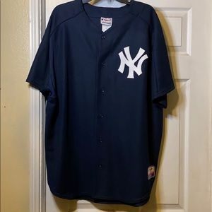 New York Yankees button up jersey